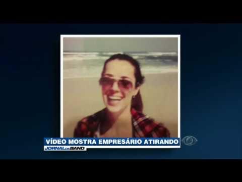 Câmeras de segurança gravam assassinato em São Paulo