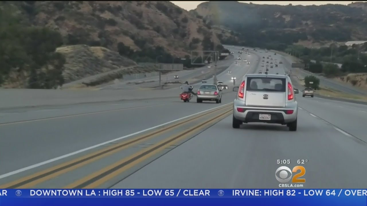 Road Rage Leads To Chain Reaction Crash Near Santa Clarita