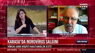 Karasu'da son durum ve Noravirüs salgını