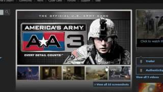 how to easly download America's Army 3