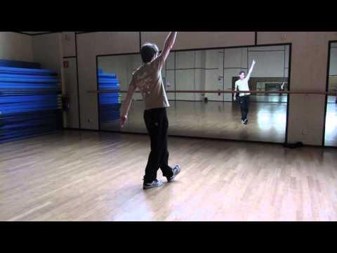 Tecktonik Choreo Tutorial Part 1 - Russia Tektonik Tutorial