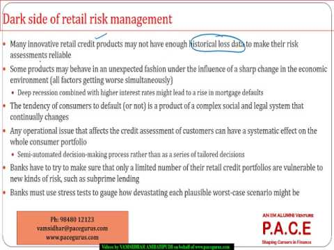 Credit Scoring and Retail Credit Risk Management