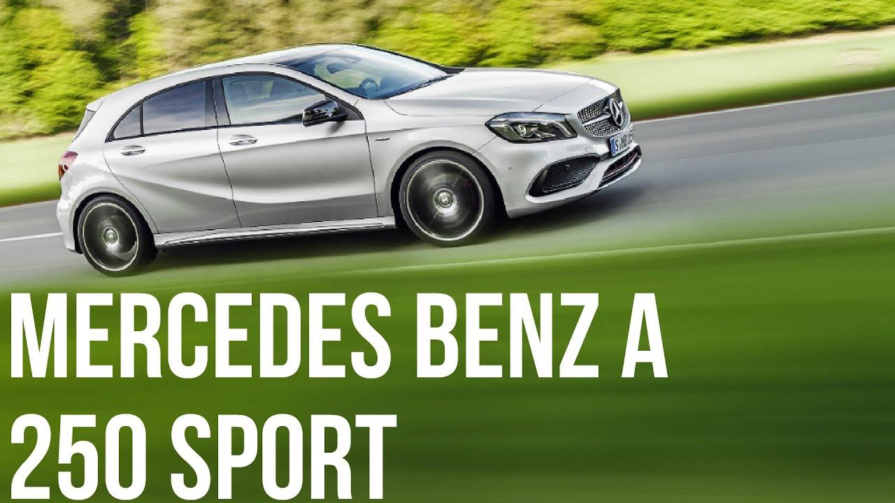 2016 mercedes-benz a 250 sport (amg line) - polar silver drive