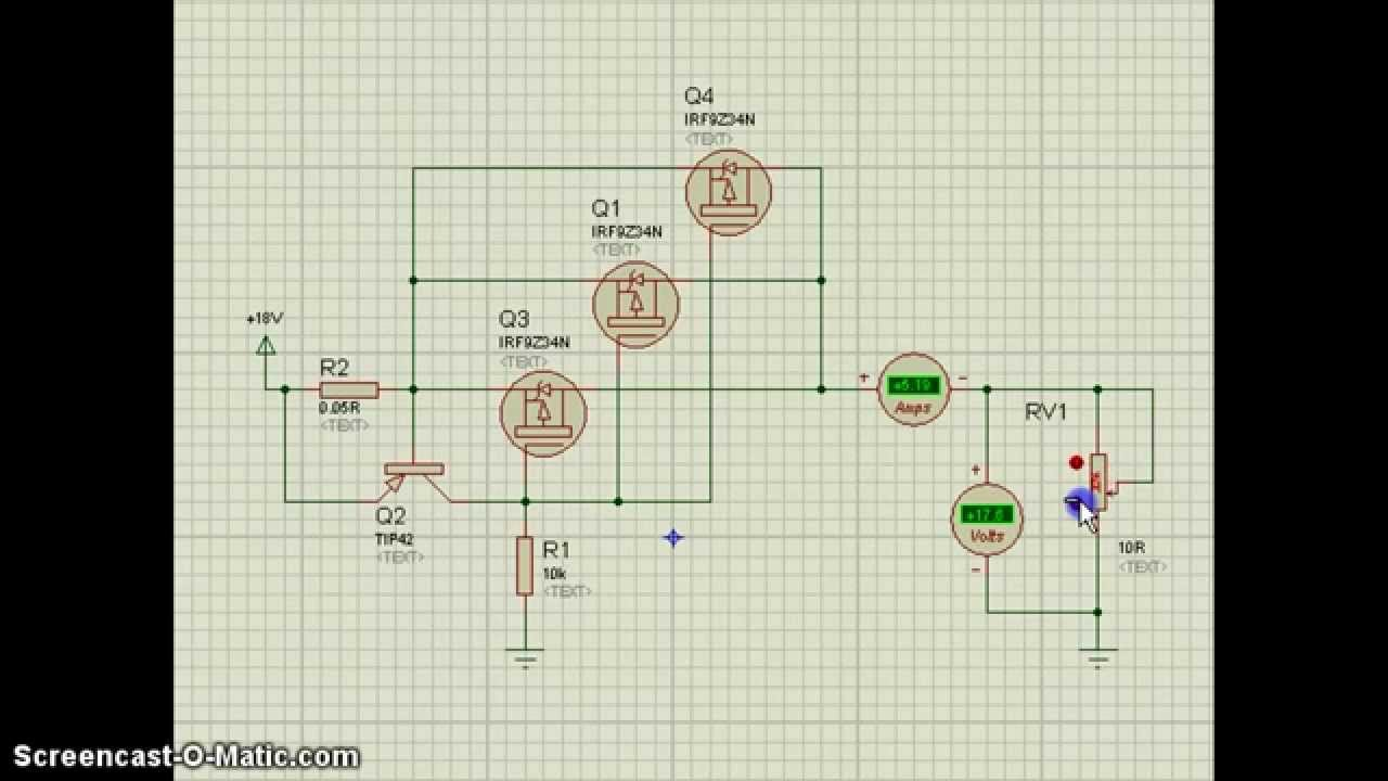 Simple Electronic Fuse Circuit Eleccircuitcom