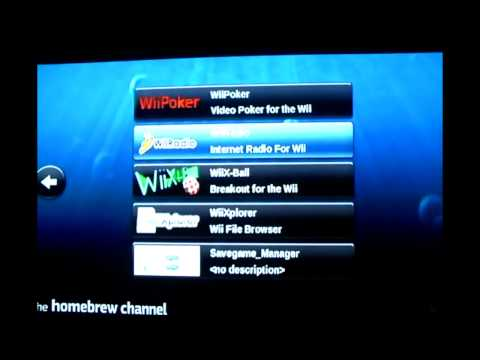 mplayer ce wii wbfs