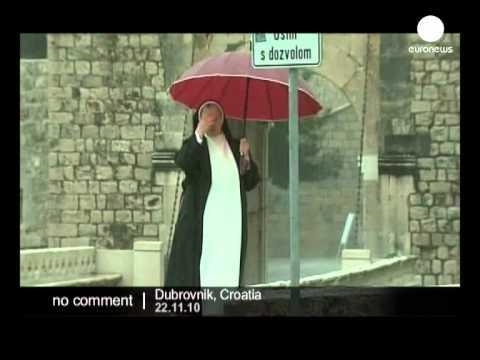 Dubrovnik under water - no comment