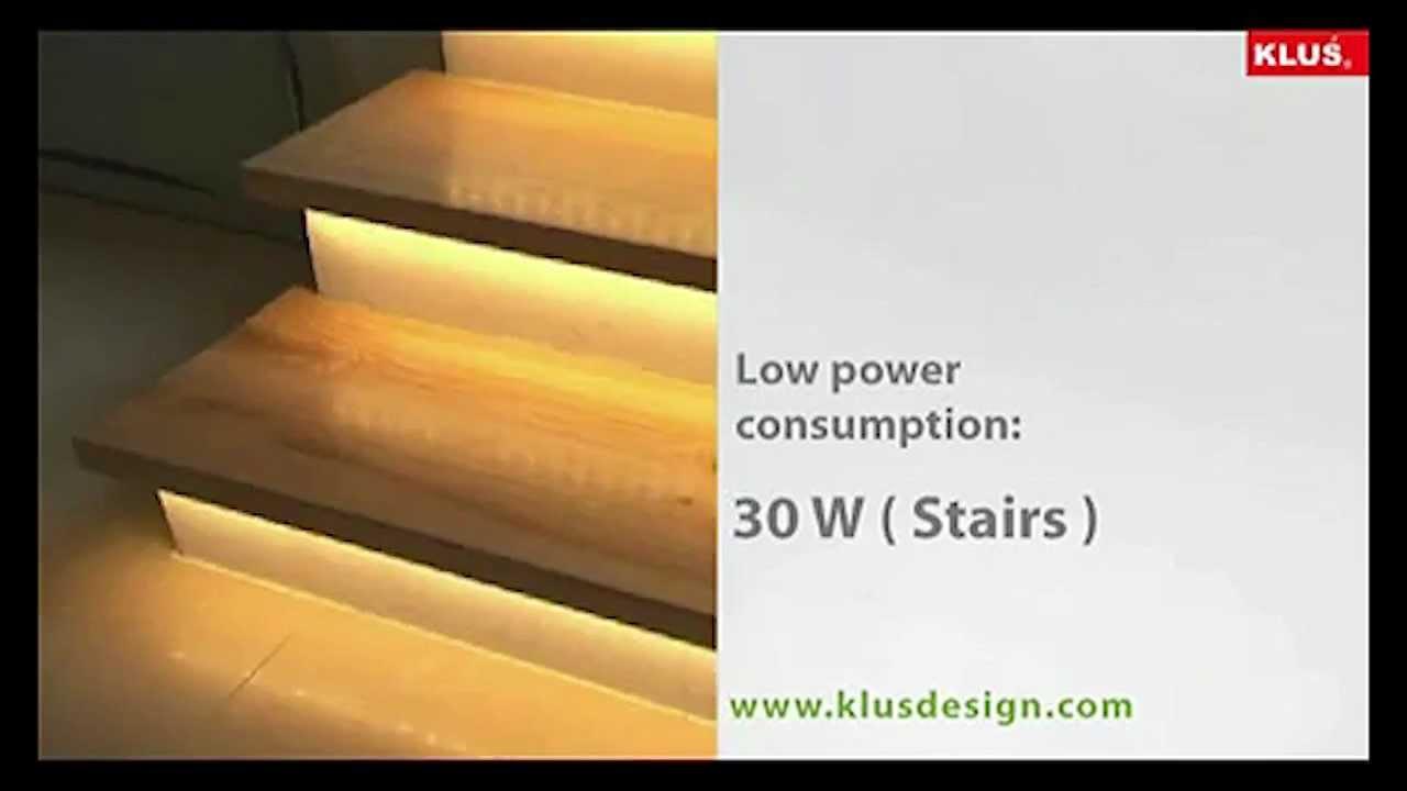 Lighting Basement Washroom Stairs: KLUS LED Stair Lighting