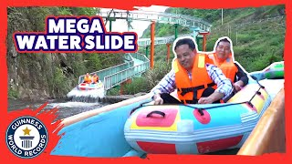 Longest mountainside water slide - Guinness World Records
