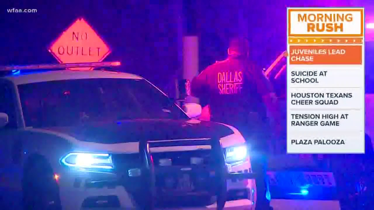 Teens flee deputies in high-speed chase on I-35E, officials say