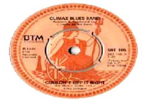 Climax Blues Band - Couldn't Get It Right'88 Remix.