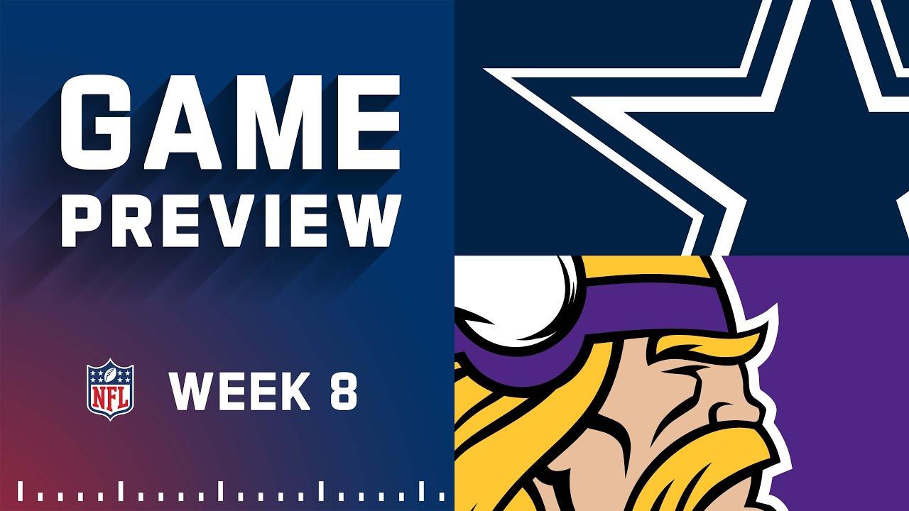 Download Dallas Cowboys vs. Minnesota Vikings | Week 8 NFL Game Preview