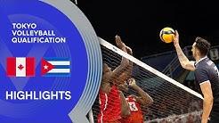 Canada vs. Cuba - Match Highlights
