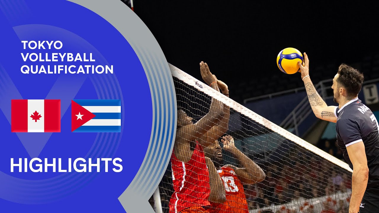 Canada vs. Cuba - Highlights | NORCECA Men's Tokyo Volleyball Qualification 2020