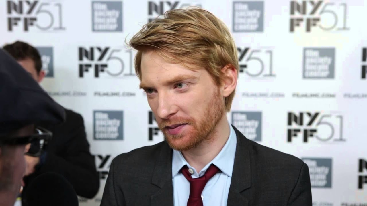 """NYFF51: Domnhall Gleeson   """"About Time"""" Red Carpet"""