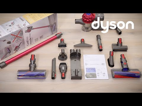Dyson V7™ cord-free vacuums - Getting started (CA)