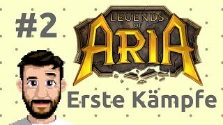 Tutorial: Legends of Aria (Ultima Online 2) - Krieger: Ausstattung / Erste Schritte #2