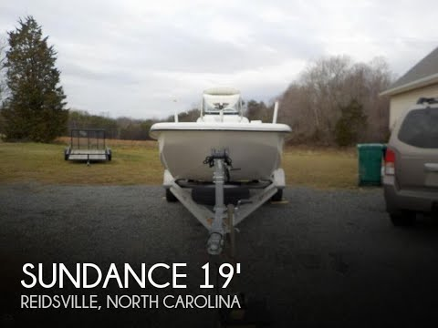 [UNAVAILABLE] Used 2014 Sundance F19 Center Console in Reidsville, North Carolina