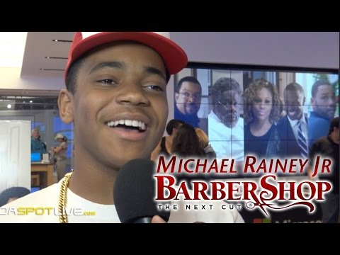 BarberShop 3 The Next Cut - Michael Rainey Jr Interview