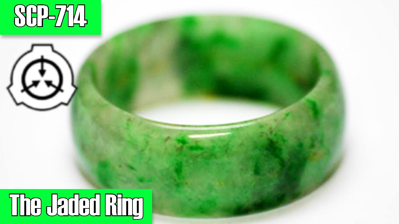 SCP-714 The Jaded Ring | Safe class | Self repairing