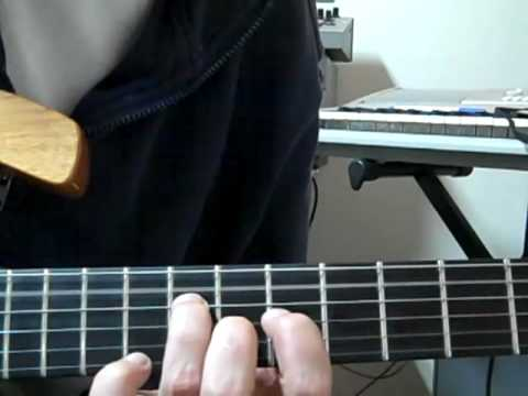 Feel Like A Stranger Intro Chord Guitar Lesson Youtube