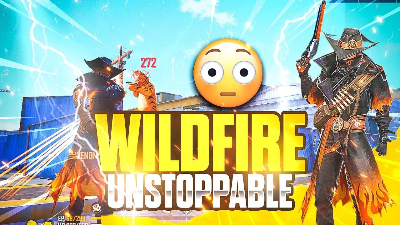 Ashish Chanchalani Funniest Random Player Ever😂 Wildfire Vagabond Bundle - Garena Free Fire