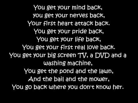 """Rascal Flatts: """"Backwards"""" ~Lyrics"""