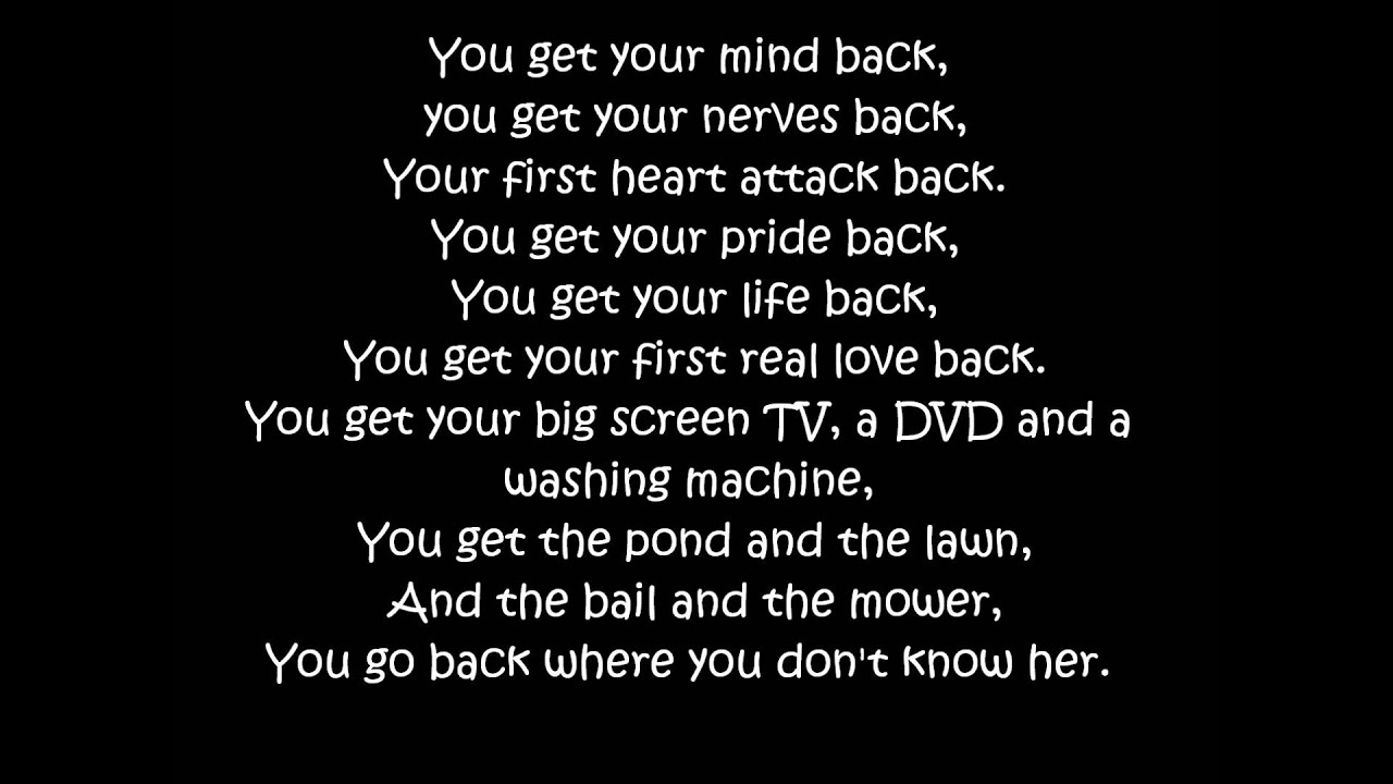 "Download Rascal Flatts: ""Backwards"" ~Lyrics"