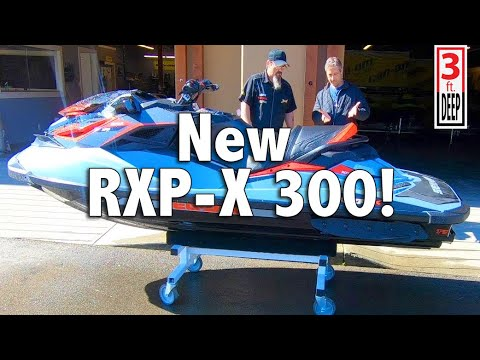 Mario's New 2018 Sea-Doo RXP-X 300