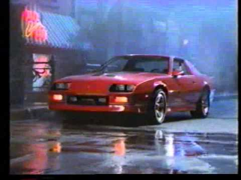 1986 Camaro Iroc Z Commercial - YouTube