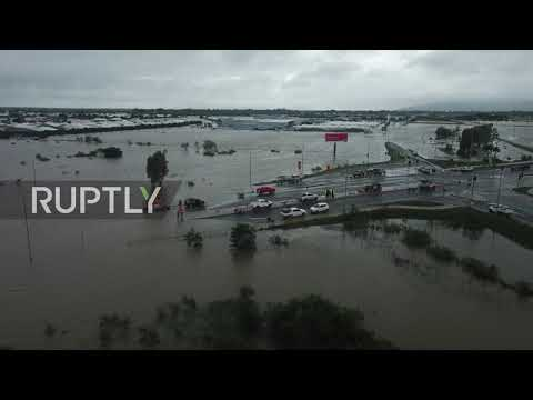 Australia: Townsville under water after deliberate flooding