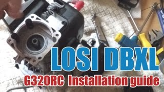 Zenoah G320 installation into a LOSI DBXL RC