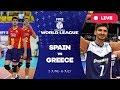 Spain v Greece - Group 3: 2017 FIVB Volleyball World League