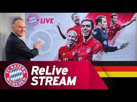 Re-Live Launch | FCBayern.tv Live mit Karl Heinz Rummenigge // German Language