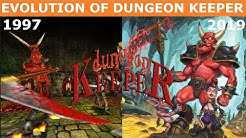 Evolution of Dungeon Keeper (1997-2019)