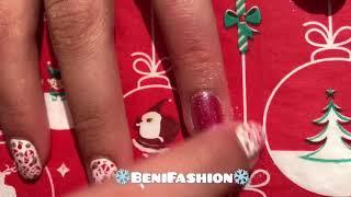 10 Christmas Nails Designs Ideas