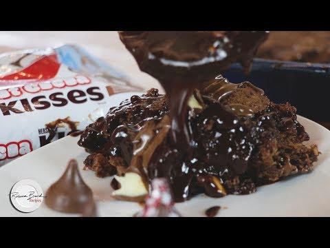 Hot Chocolate Pudding Cake Recipe | Homemade Easy By Scratch