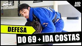 Jiu-Jitsu - Defesa do 69 + Ida pras Costas- Dimitrius Souza - BJJCLUB