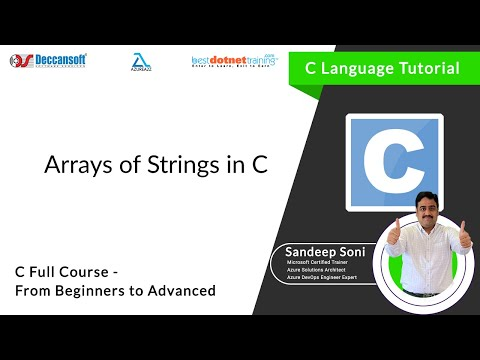 Download Youtube: Array of String in C Programming language