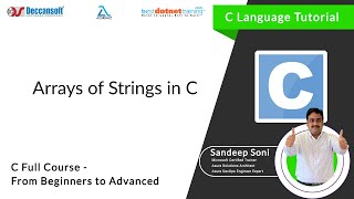 Array of String in C Programming language