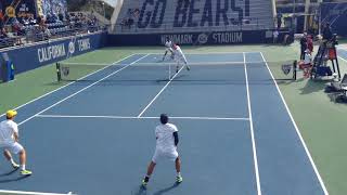 Cal vs Stanford #1 Doubles 2-24-18