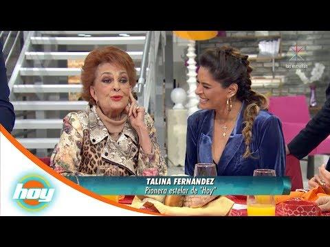 Talina Fernández recuerda como inició en el programa | Hoy