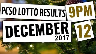 Lotto Results Dec 12, 2017, 9PM ft. Ez2, Swertres, 6D, 6-42, 6-49 & 6-58