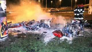 Ferrari 360 modena crash
