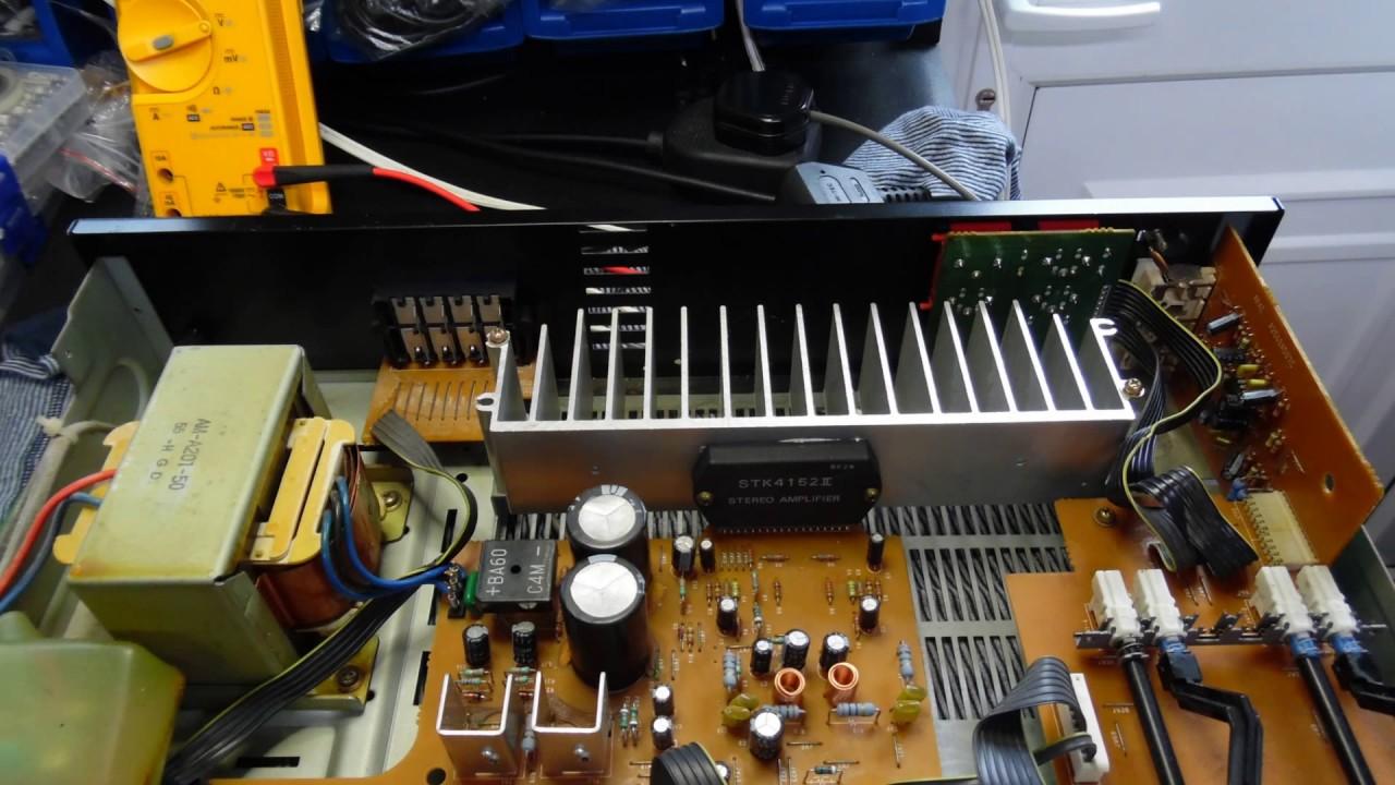 Akai AM-A201 Amplifier Repair