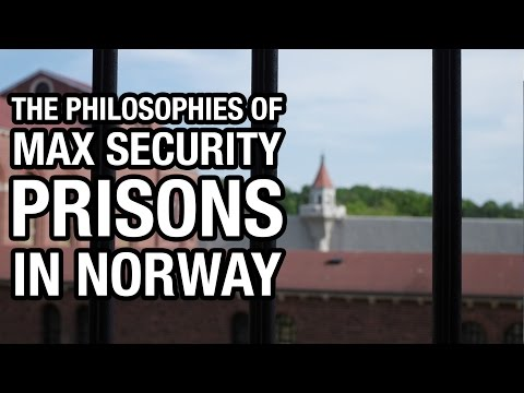 The humane prison system of Norway presented to staff at Att