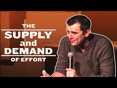 The Supply and Demand of Effort