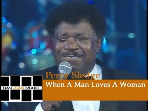 Percy Sledge Live - When A Man Loves A Woman