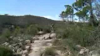 Downhill Mountain Biking 5.5 km track Portugal