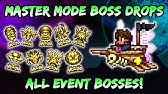 Master Mode Boss Drops New Pets Mounts Relics In Terraria Journey S End 1 4 Pre Hardmode Youtube