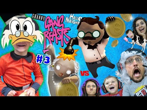 ducktales-treasure-vs.-gang-beasts!-fgteev-dr.-hello-neighbor-&-granny-family-royale-(#3)-skit